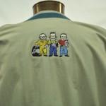 Pep Boys on jacket