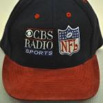 CBS Radio Sports on baseball cap
