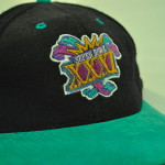 Super Bowl XXXI on baseball cap
