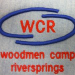 WCR puff embroidery