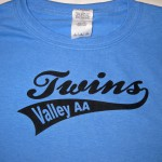 Valley AA Twins front