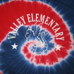 Valley Elementary full front tie-dye tee