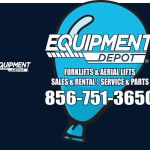 Equipment Depot front and back proofs