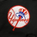 Yankees on golf bag