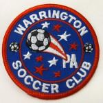 Warrington Soccer Club patch