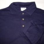 Navy Anvil long sleeve Jersey Knit= 3S, 3M, 3L, 3XL, 3XXL; $2 each