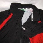 Black and Red zip-up Prince jackets, $5 each: 2-M, 2-L
